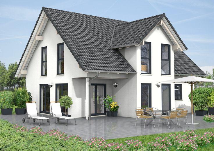 Haus Idee Sattel- oder Giebeldach Haus mit einer Wohnfläche von ca. 136 m²