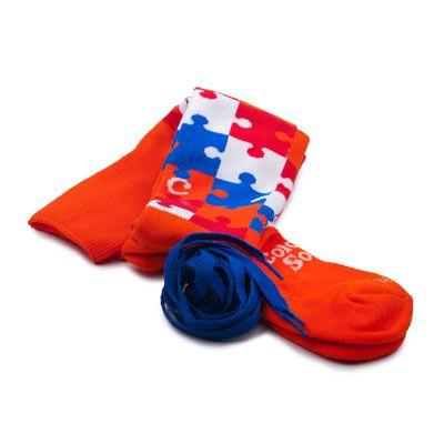 Puzzeled - Dutch Blue by ColorMeSocks™