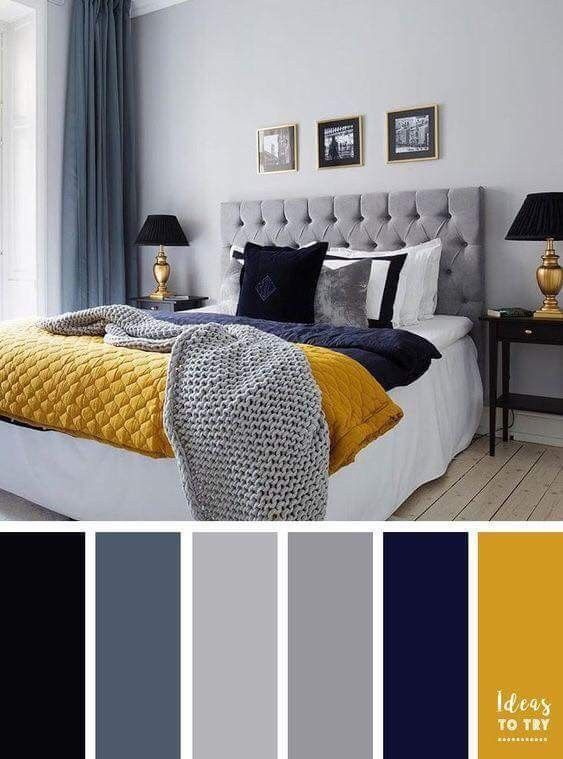 Pin By Anna Lee On House In 2018 Pinterest Bedroom Gray And Blue