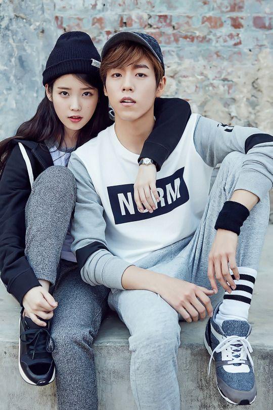 IU & LEE HYUN WOO