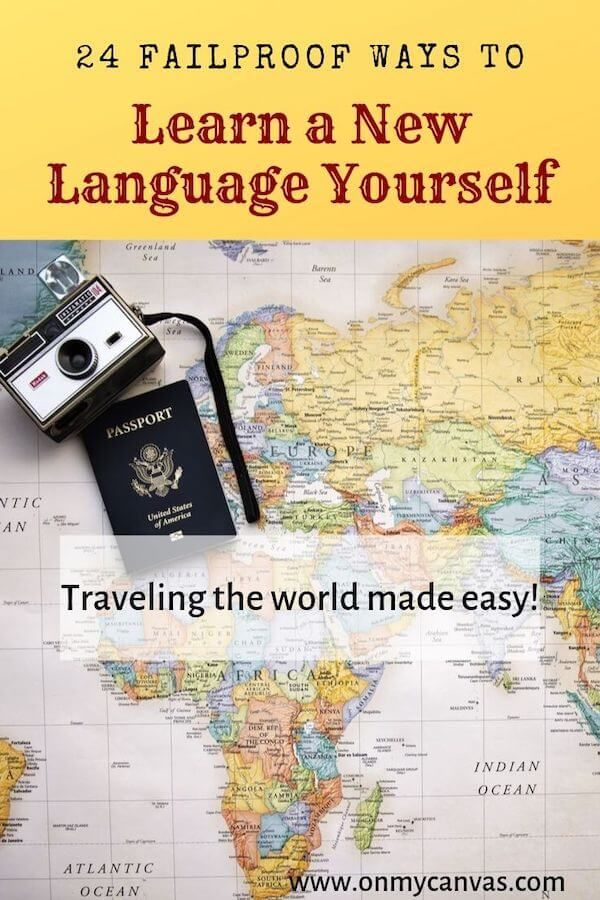 what is the best way to learn a language by yourself