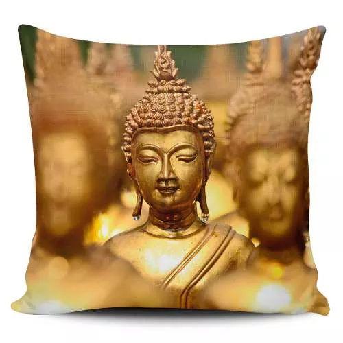 Cojin Decorativo Tayrona Store  Buda 02 - $ 43.200