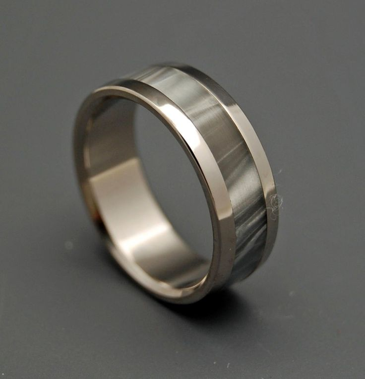 Unique Wedding Rings | Titanium Rings - Astaire | Titanium Rings | Minter + Richter