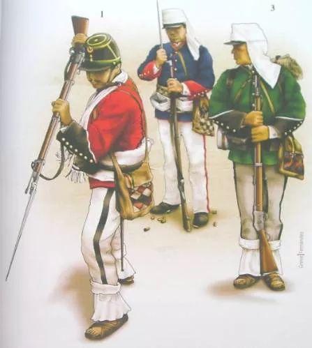 uniformes guerra del pacifico land campaigns 1879 1884 chile