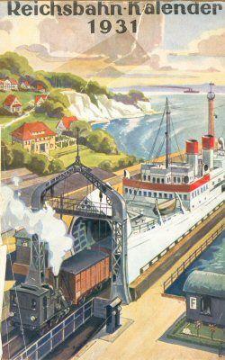 Reichsbahn-Kalender 1931