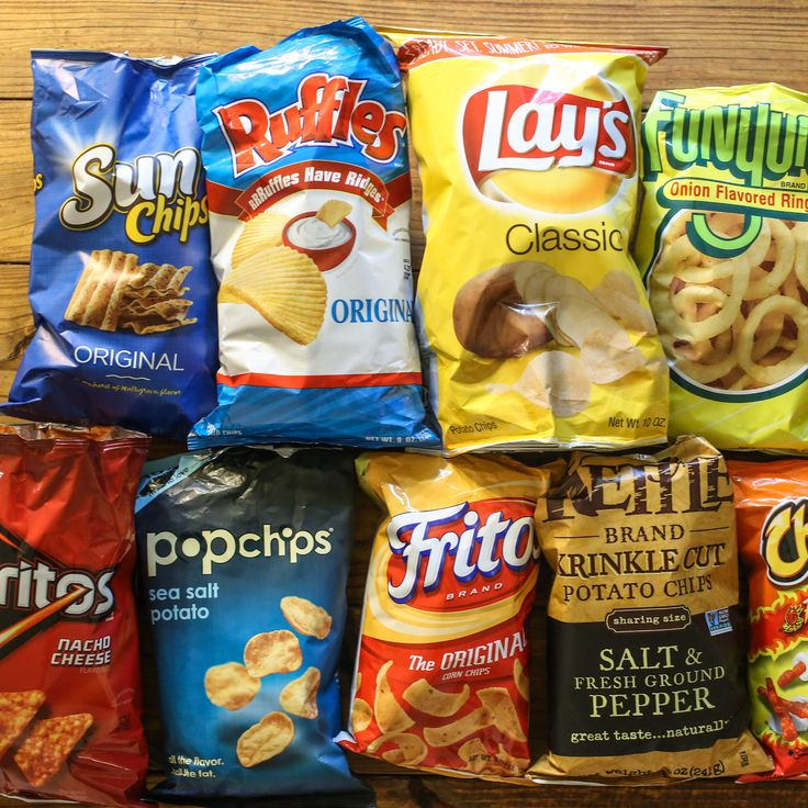 HOW MANY CHIPS ARE ACTUALLY IN BAGS OF DORITOS, CHEETOS, FRITOS, AND MORE