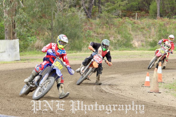 Racing with 50, 25 and 56 - Kurri Kurri 29/10/2016 #photo #photography #photoblog #photoart #dirtbike #dirtbikeriding #dirtbikeracing
