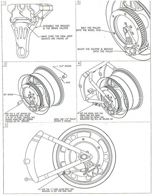 Harley Davidson Sportsters Model XL XLCH Diagrams and