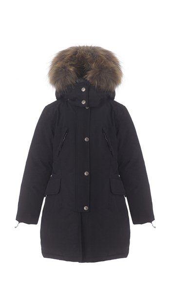 VER de TERRE | Girls eskimo down coat w/fur 6 mos - 16 yrs