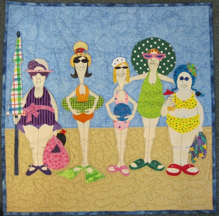 Amy Bradley bathing beauty quilt