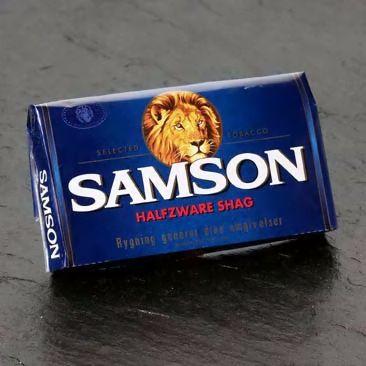 Ik rookte Samsonshag, om de doodeenvoudige reden dat mijn achternaam Samson is.