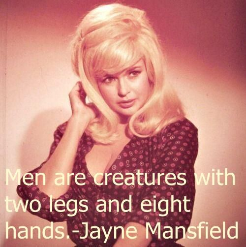 Sunset Boulevard Quotes: 205 Best Images About Jayne Mansfield. . Love Her Too On