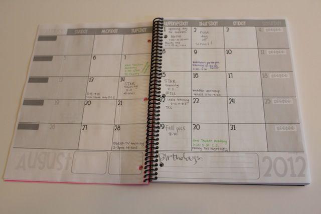 Diy Calendar Excel : Diy customized lesson planner tutorial tutorials