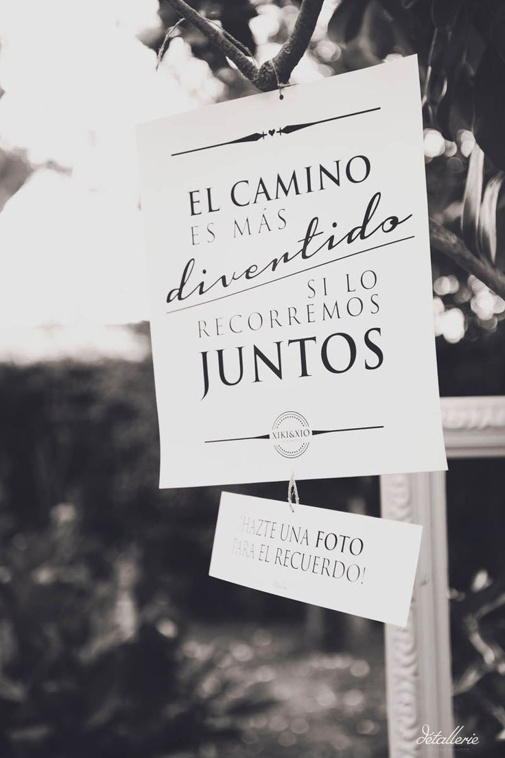 Te traemos al blog las mejores frases para bodas que podrás usar en carteles en