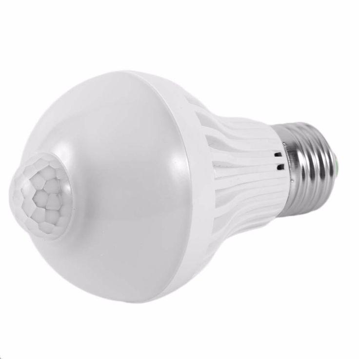 Infrared Intelligent Induction LED Bulb Lamp Motion Sensor Lights Infrared Body Sound Body Lamp Sensor Night Light Hot Sale