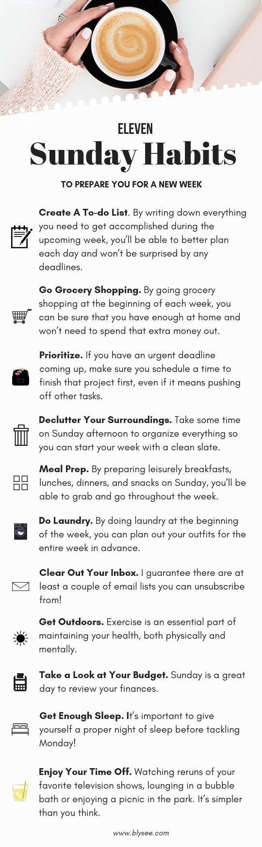 11 Dinge am Sonntag für eine bessere Woche