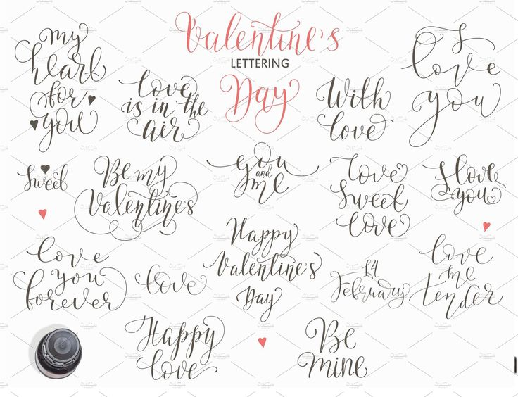 Valentine's Day. Romantic set by OlgaAlekseenko on @creativemarket