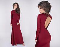 Вечернее платье Madlen бордо