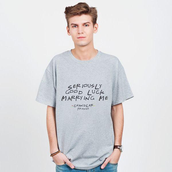 Good Luck Marrying Me - t-shirt męski w artiglo na DaWanda.com