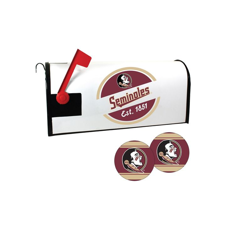 Florida State Seminoles Magnetic Mailbox Cover & Decal Set, Multicolor