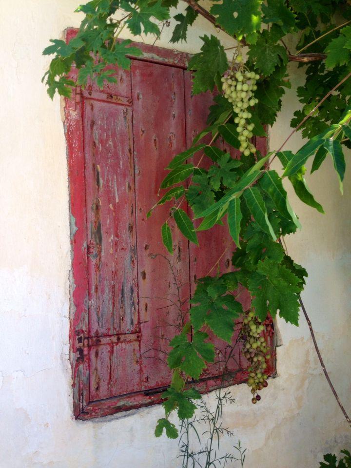 Vintage shutters, greek style, Zakynthos