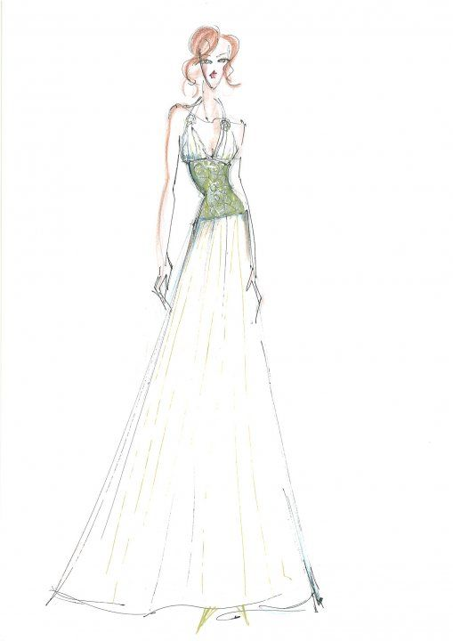 sketch #MakanyMarta #sketch #fashion #wedding