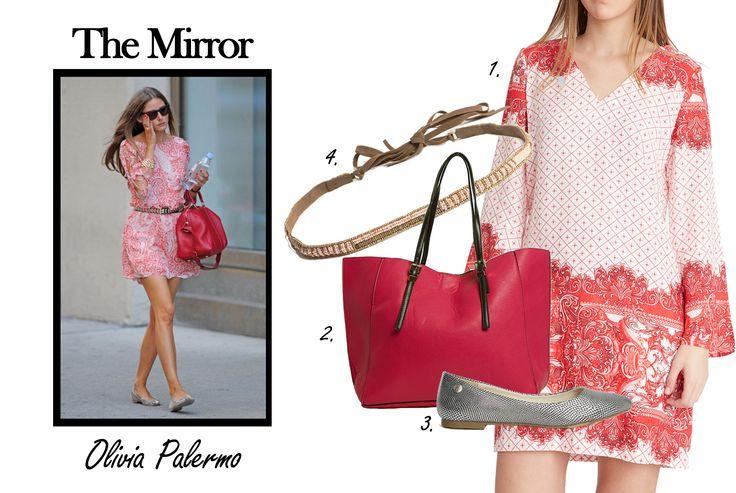 Perfecto look primaveral de #OliviaPalermo