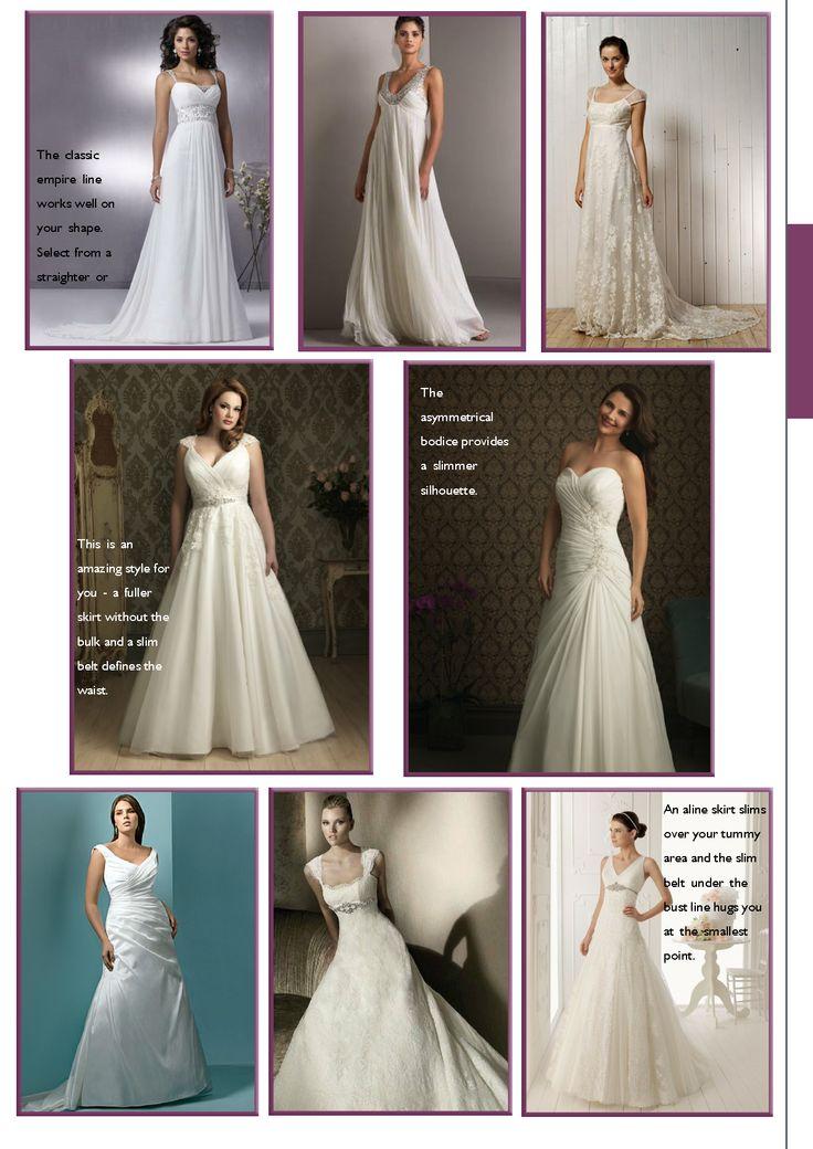 85 best body shape apple images on pinterest apple body for Wedding dresses for apple shaped brides