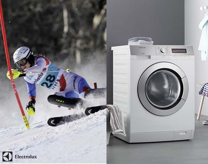 Mach es wie Wendy Holdener und verzichte beim #Waschen deiner atmungsaktiven #Sportbekleidung auf den Weichspüler. Verwende stattdessen ein Feinwaschmittel.