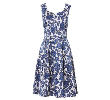 Rommy Fit & Flare Dress