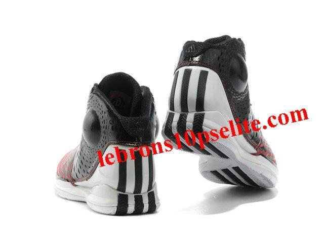 Adidas AdiZero Rose 3.5 Shoes Black/White/Red