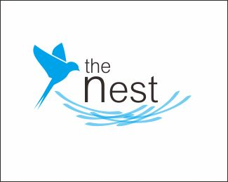 bird nest Logo design - the logo can be used for practice review, industry, fashion, and other appropriate Price $499.00