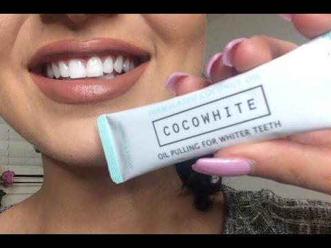 How I Use Cocowhite Oil Pulling Method