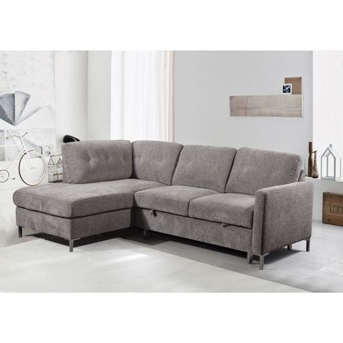 Super Michele 2 Piece Sectional Sofa With Left Facing Chaise Machost Co Dining Chair Design Ideas Machostcouk