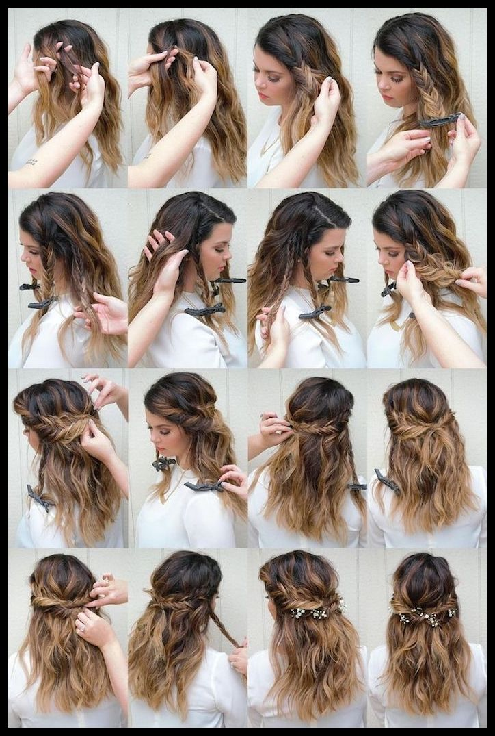 ▷ 1001 + Ideas for Oktoberfest Hairstyles with Instructions | Hairstyles women #styles #frisurentrends #styles #frisurenkurz