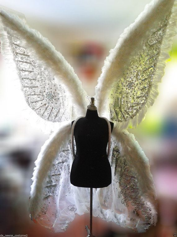 Parade Lace Ailes Victoria Secret Model Angel Wings by DaNeeNa