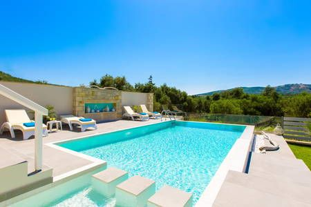 Check out this awesome listing on Airbnb: Villa Veni, Full Privacy New Villa! - Villas for Rent in Chania