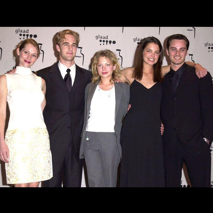 Meredith Monroe, James Van Der Beek, Michelle Williams, Katie Holmes Kerr Smith Dawson