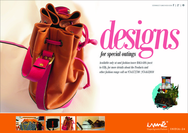 designs for special outings...Available only at umé fashion tower BAGA-GOA (next to CCD), for more details about the Products and other fashion range call on 9764372700 |9764632010