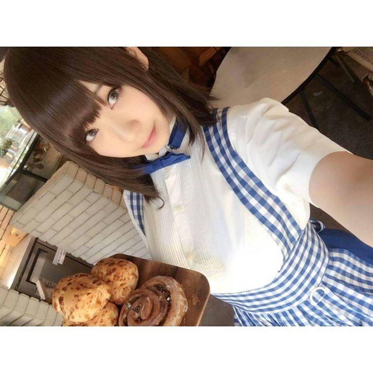Looks like Aichan bake some toast :3  #Anime #manga #cosplay #getsuyoubinotawawa #tawawa #monday #aichan  CN : Iori Moe Check out her page : https://www.facebook.com/rinriniorin/