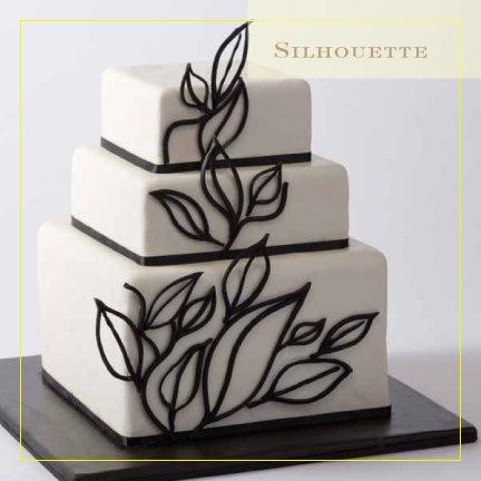 Cake Design Italia Facebook : Silhouette cake by https://www.facebook.com/CIAchef ...
