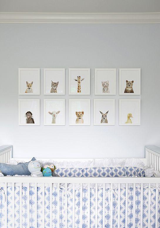 cute series of framed prints