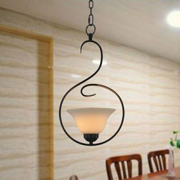 mode rustieke hanglamp korte decoratieve verlichting bar lamp gangpad verlichting lamp lampen 9042 ijzer