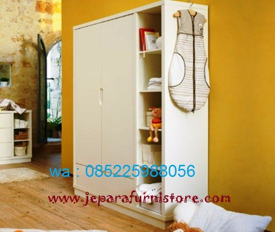 Lemari Baju Anak Murah Terbaru cat duco warna putih ini kami jual dengan harga murah yang di buat menggunakan kayu mahoni yang kualitas.