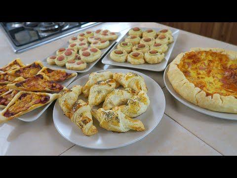 Rustici di Pasta Sfoglia e Wurstel - 5 Ricette Facili da Aperitivo - Puff Pastry and Wurstel Ideas - YouTube