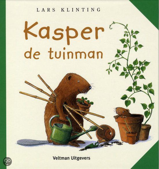 Prentenboek 'Kasper de tuinman'