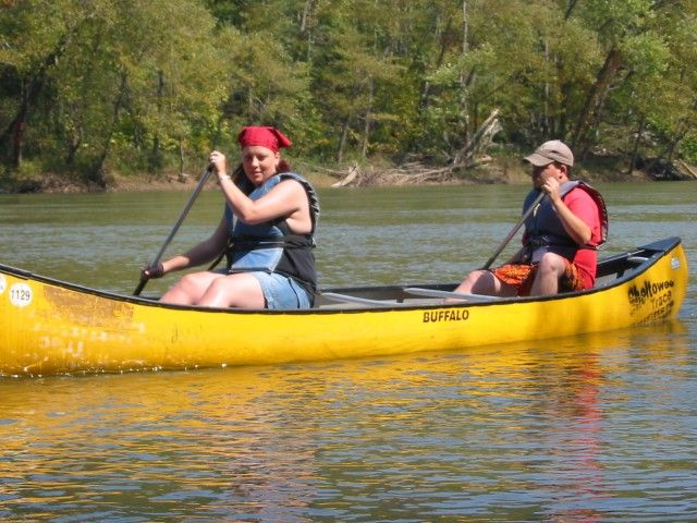 Half day canoe and kayak trips on the Cumberland River in KY and the Big South Fork River in KY and  TN and Laurel Lake