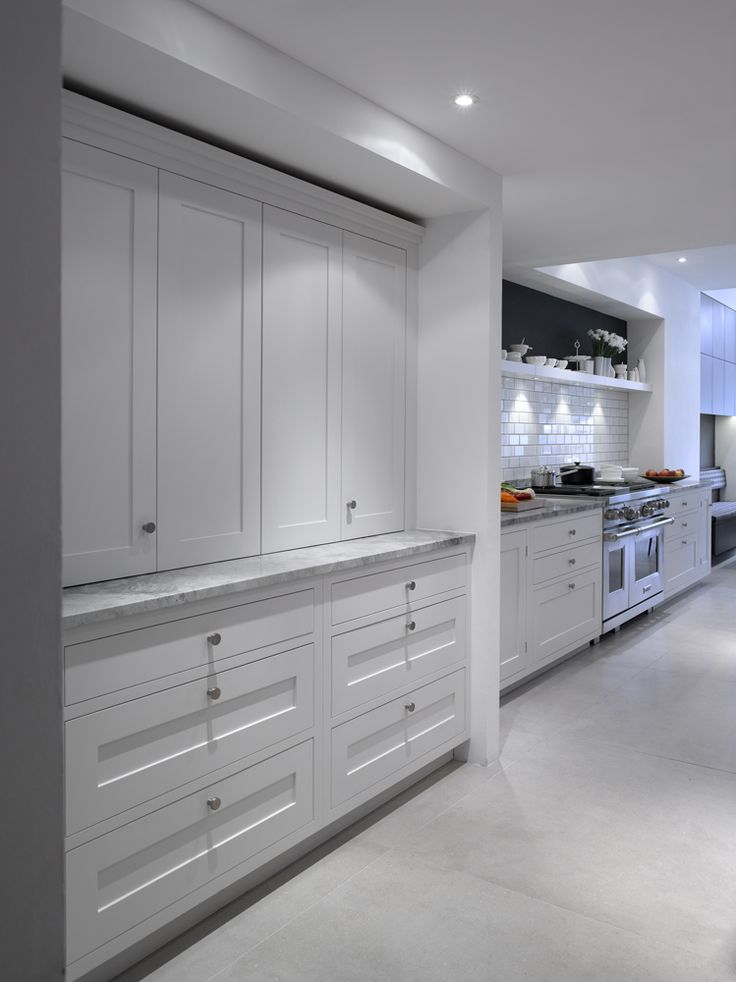 Roundhouse showrooms contemporary Kitchen