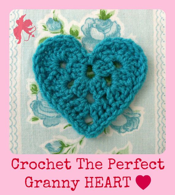 Granny Heart & Heart Garland Crochet pattern by Mackenziepatterns, $7.60