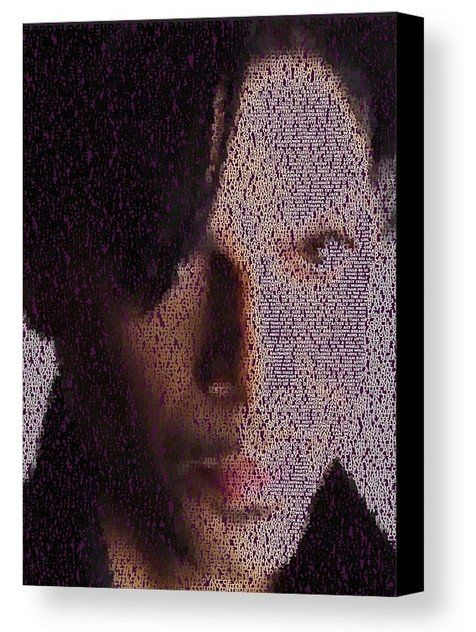 Incredible Prince Song List Mosaic Print Limited Edition , Posters, Prints & Pictures - Artist Paul Van Scott, Final Score Products  - 1
